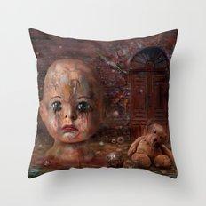 Last Days Throw Pillow