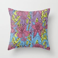 Floral Pattern #43 Throw Pillow