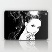 Smoke Girl Laptop & iPad Skin