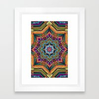 Indy Overdose Framed Art Print