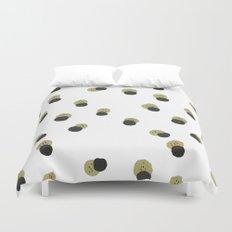 blots abstract minimal pattern Duvet Cover