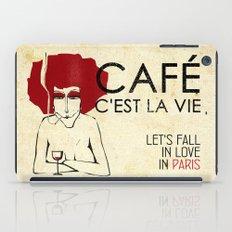 Café c'est la vie - Paris iPad Case