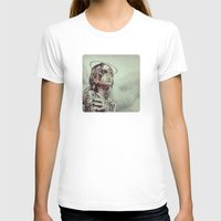 Dissimulation Womens Fitted Tee White SMALL
