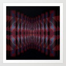 Tunnel Art Print