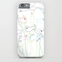 iPhone & iPod Case featuring Pisces by VirginiaEddie Designs