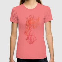 Broken Angel Womens Fitted Tee Pomegranate SMALL