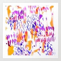 Lanai Orange Art Print