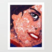 Roberta - Detail Art Print