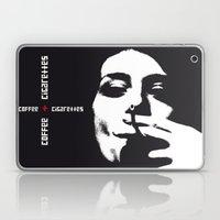 Coffee + Cigarettes Laptop & iPad Skin