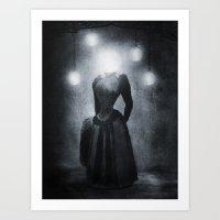 Lady Of The Light Art Print