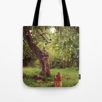Polaroid Tree Tote Bag