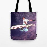 Snowboarding 2 Tote Bag