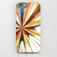 iPhone Cases featuring Colorful Splash by SensualPatterns