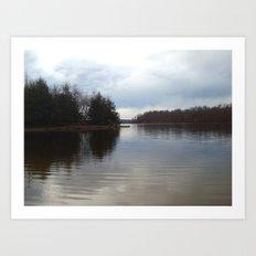 Still Water Art Print