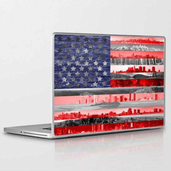 My America Laptop & iPad Skin