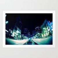 Downtown Winnipeg Art Print