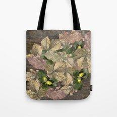 Acorns in Autumn Tote Bag