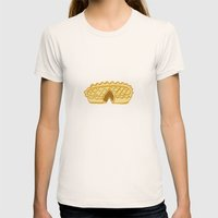 PIE  Womens Fitted Tee Natural SMALL