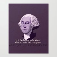 It Is Far Better To Be A… Canvas Print