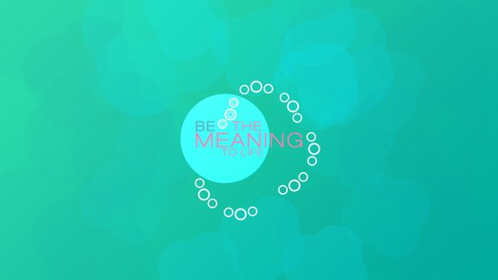 be the meaning to life 2 Art Print