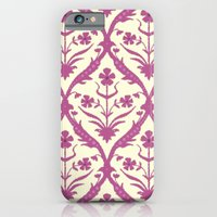 iPhone & iPod Case featuring Rosa trellis ikat by Sharon Turner