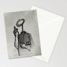 Trust With No Head And Half Finger! Stationery Cards