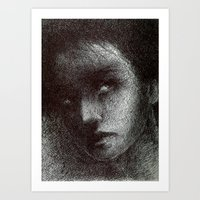 yaşam çizgileri Art Print