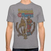 El Classico Mens Fitted Tee Athletic Grey SMALL