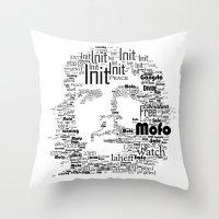 Che Type Throw Pillow
