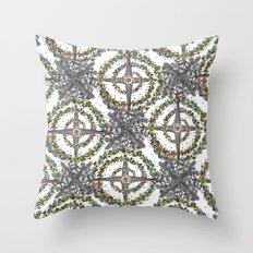 Energy Expansion Throw Pillow
