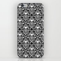 Skull Damask iPhone & iPod Skin