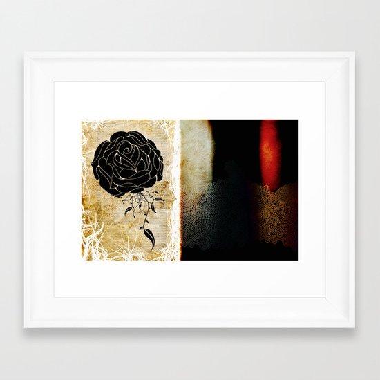 The change. Framed Art Print