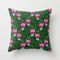 Funny Forest  Throw Pillow