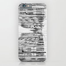 Fog and Rain: Cityscape (WHITEOUT) iPhone 6 Slim Case