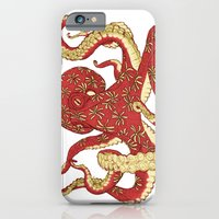 Flowered Octopus iPhone 6 Slim Case