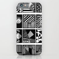 iPhone & iPod Case featuring lines by Michelle Fernando