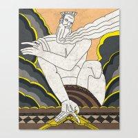 Zeus Canvas Print