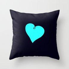 {My Heart} Throw Pillow