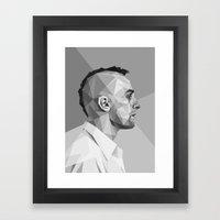 Travis Bickle Framed Art Print