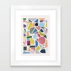 Collection Framed Art Print
