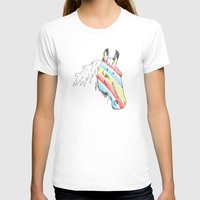 The Paint Womens Fitted Tee White SMALL