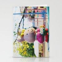 Street Bunny Stationery Cards