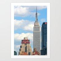 New Yorker - Empire Stat… Art Print
