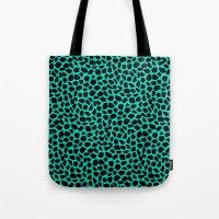 Berlin Boombox Animal Pa… Tote Bag