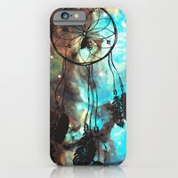 iPhone & iPod Case featuring Dreamcatcher (blue) by christinarashel