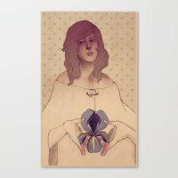 Life of an Iris Canvas Print