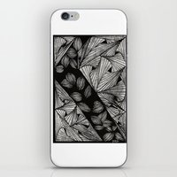 Drawing 3 White iPhone & iPod Skin