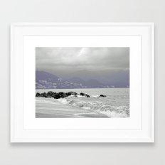 Puerto Vallarta Framed Art Print