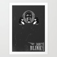 Doctor Who: Weeping Ange… Art Print