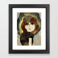 The Flapper Framed Art Print